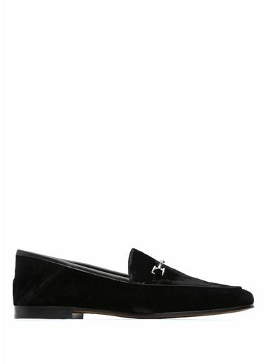 Edelman %100 Kadife Loafer Ayakkabı Siyah